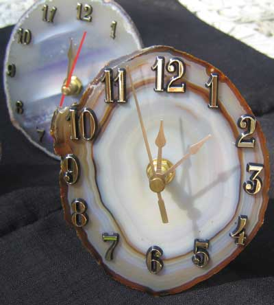 Agate Clocks