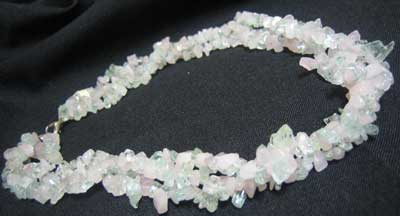 Rose Quartz & Aquamarine Necklace