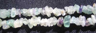Green Fluorite Chip Necklace