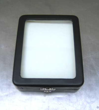 Glass Top BlackDisplay Box